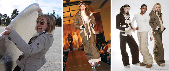 Roberta Rodger BMC Fashion Design Graduate Foursquare Outerwear