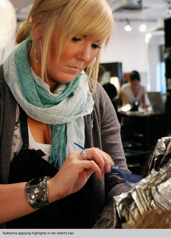 bmc professional hairstyling graduate katherine macdonald - Professional Hairstylist