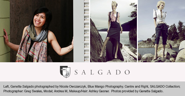 Genette Salgado BMC Fashion Design Graduate