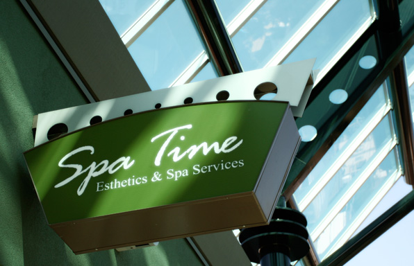 Spa Time, Esthetics and Spa Services, co-owned by Esthetics and Spa school gradutes of Blanche Macdonald Centre