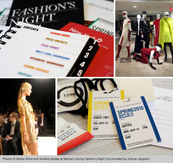 Blanche Macdonald Fashion School Students at NY Fashion Week