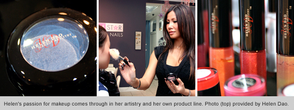 makeup program graduate helen dao glam star