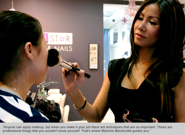 top makeup school graduate helen dao