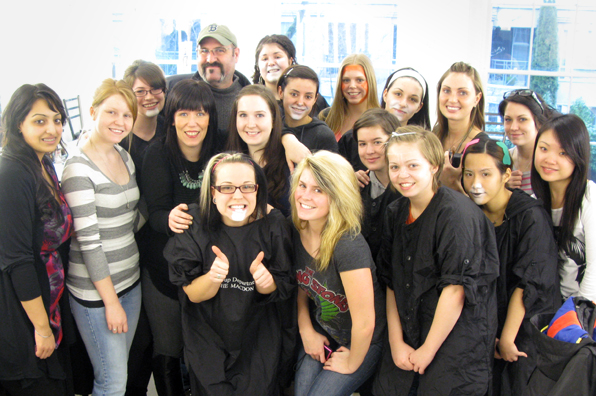 Vancouver Makeup School Students and Academy Award-Winning makeup artist Howard Berger