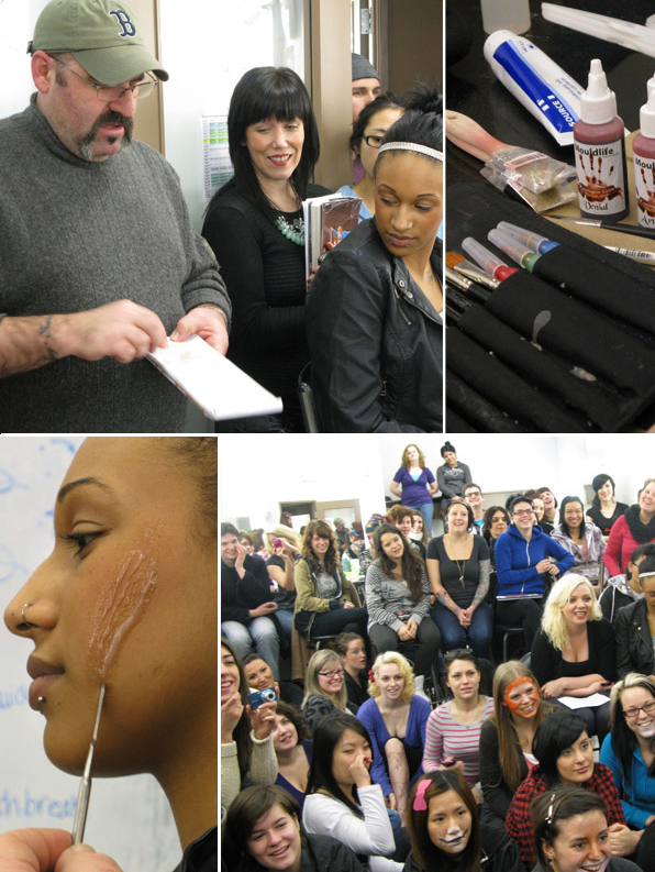 top makeup school students