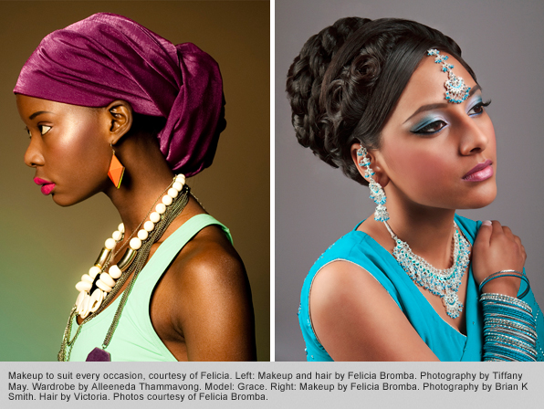 makeup programs graduate Felicia Bromba fashion makeup