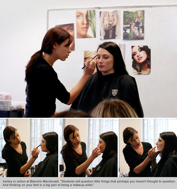 Top Makeup School Grad Instructor Ashley Forshaw