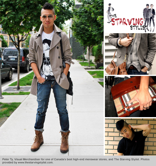 Top Fashion School Graduate Peter TY The Starving Stylist
