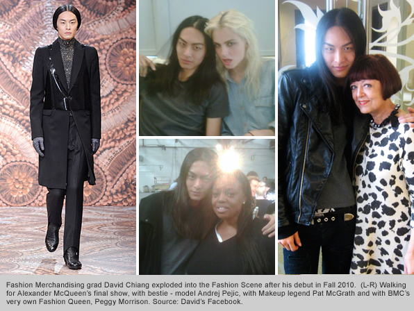 Top Fashion School Graduate David Chiang International Supermodel