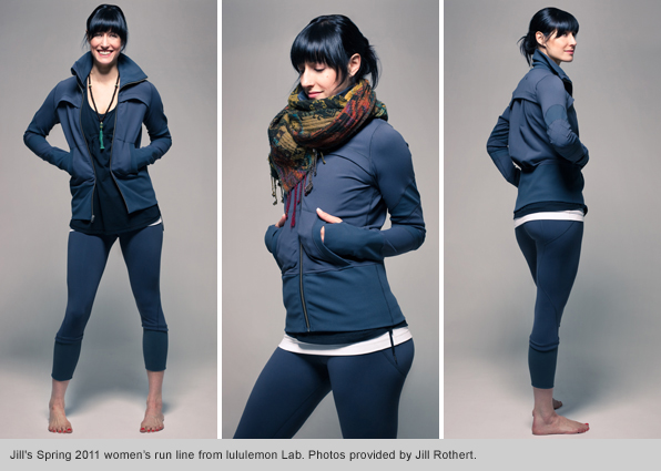 Top Fashion Design School Grad Jill Rothert Lululemon