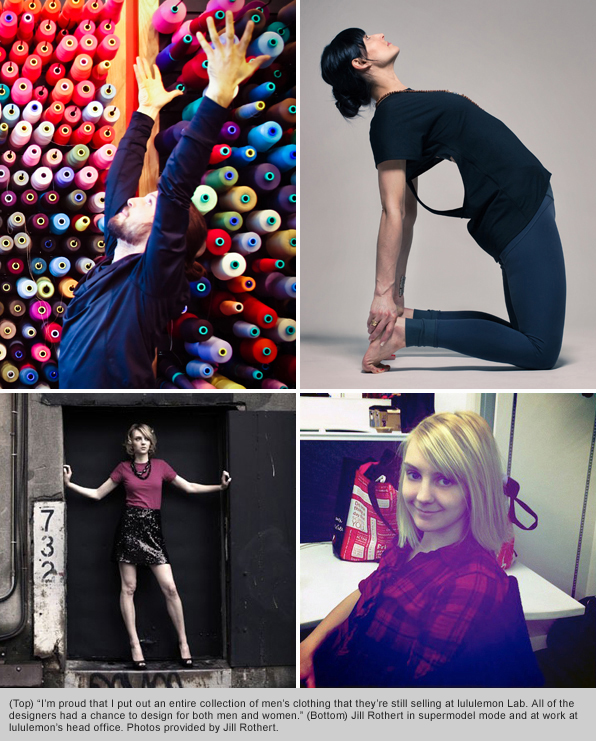 Top Fashion School Grad Jill Rothert lululemon Mens