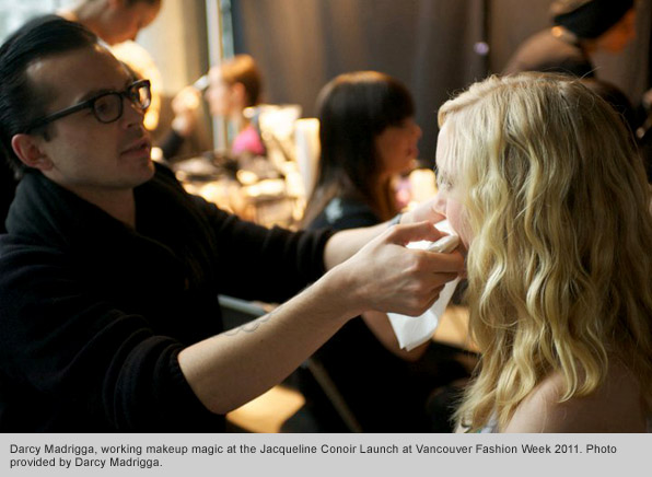Top Makeup School Graduate Darcy Madrigga