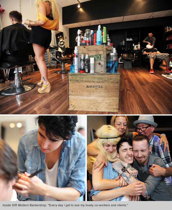 Top Hair School Graduate Dylan Walker - SIR Modern Barbershop Vancouver