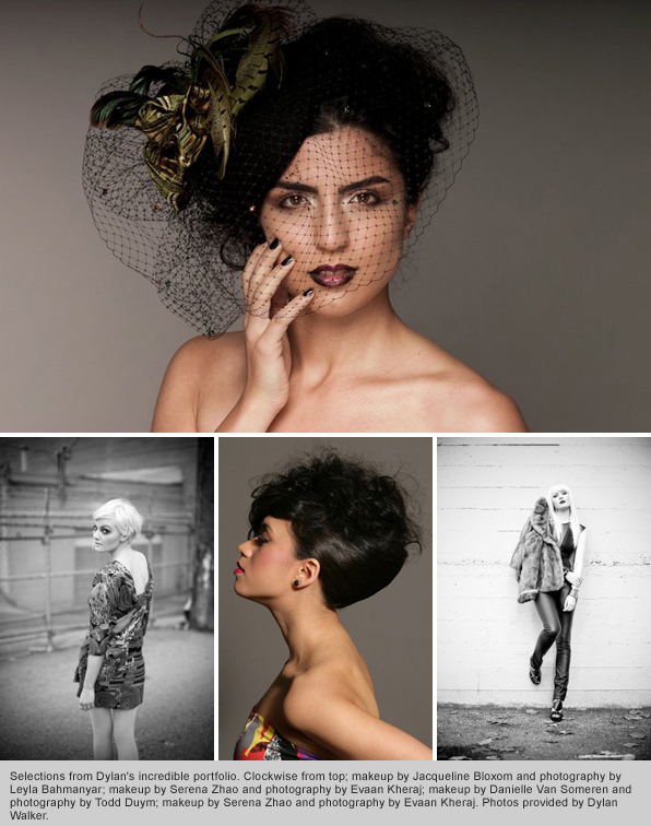 Top Hair School graduate Dylan Walker Hair Portfolio