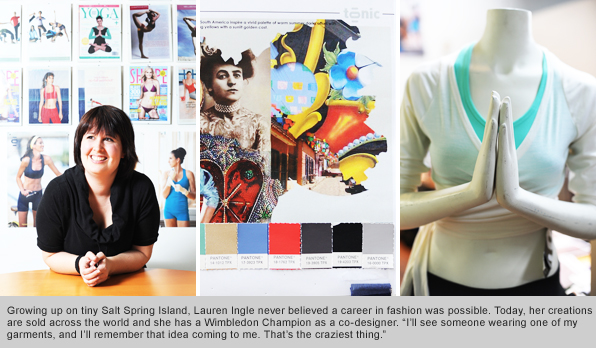 Top Fashion Design Grad Lauren Ingle