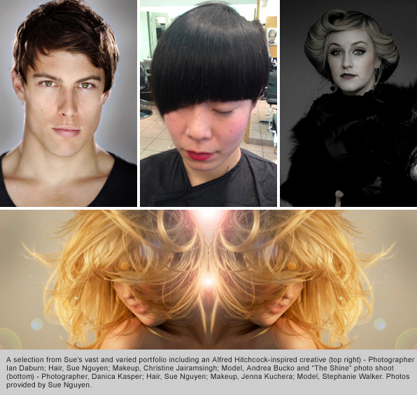Top Hair School Graduate Sue Nguyen