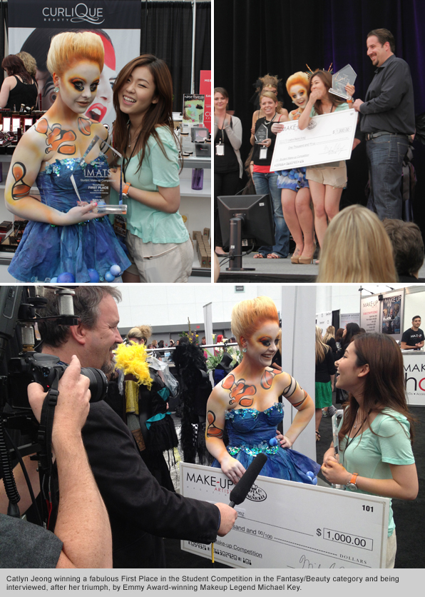 Top Makeup School graduate Catlyn Jeong IMATS Vancouver Beauty/Fantasy Winner 2012