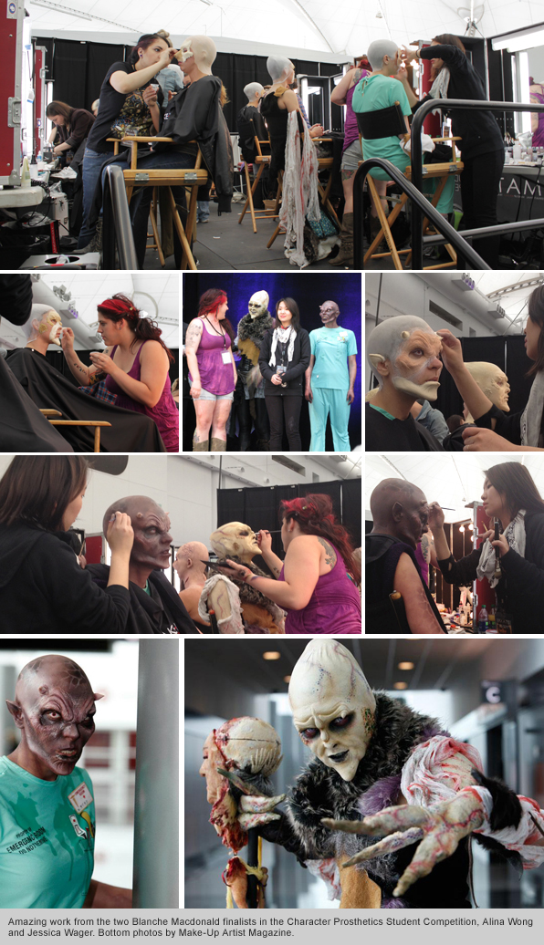 Top Makeup School IMATS Vancouver Day 2 Competition