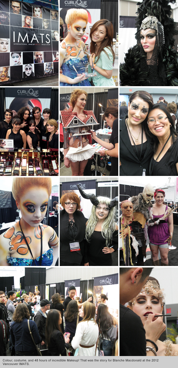 Top makeup School Vancouver IMATS 2012