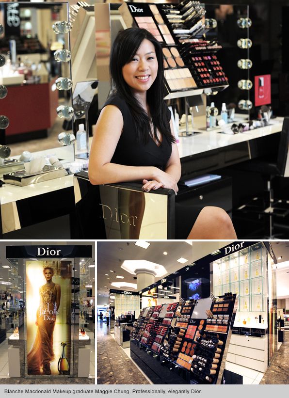 Top Makeup School Graduate Maggie Chung