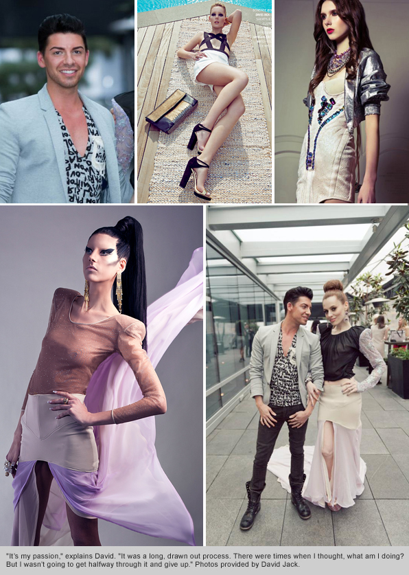 Top Fashion Design School Graduate David Jack