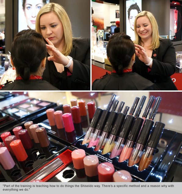 Top Makeup School Graduate Holly Carpenter, Regional Trainer for Shiseido