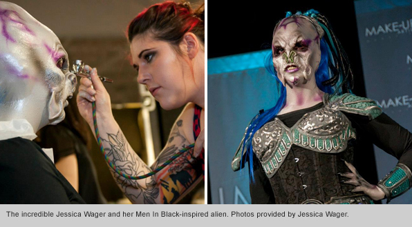 Top Makeup School Triumphs at IMATS Toronto 2012