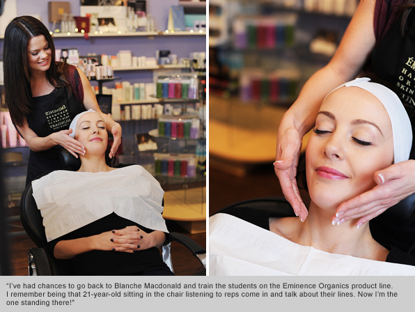 Top Esthetics School Graduate and Eminence Organics Trainer Laura Eastveld