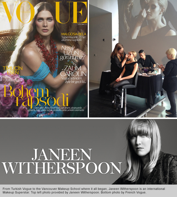 Top Makeup School Graduate Janeen Witherspoon returns for a Blanche Macdonald Signature Series Exclusive