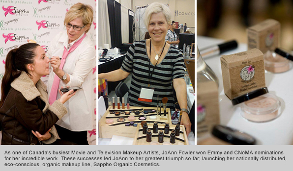 Top Makeup School Graduate JoAnn Fowler