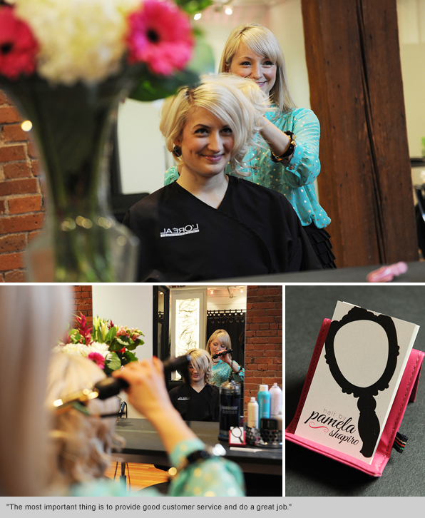 Top Hair School Graduate Pamela Jacek-Shapiro, Workshop Salon