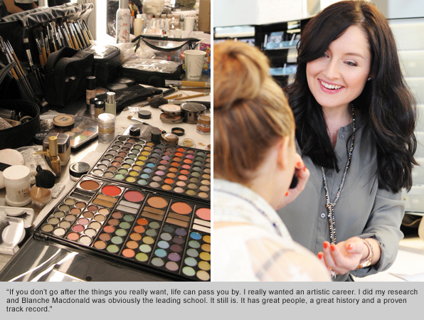 Top Makeup School Graduate Nicole Harvie