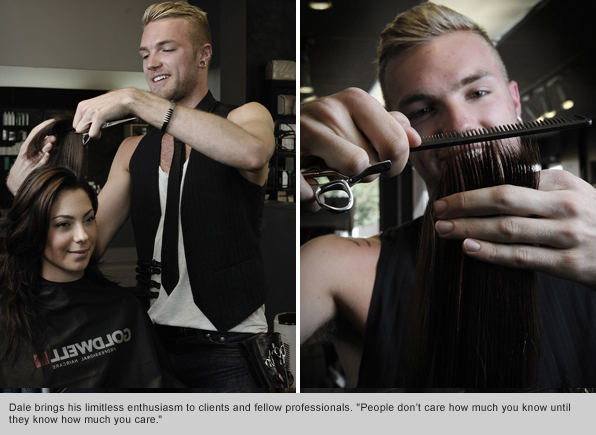 Top Hair School Graduate Dale Ewing, Goldwell Educator