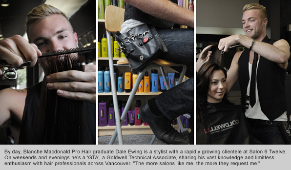 Top Hair School Graduate Dale Ewing