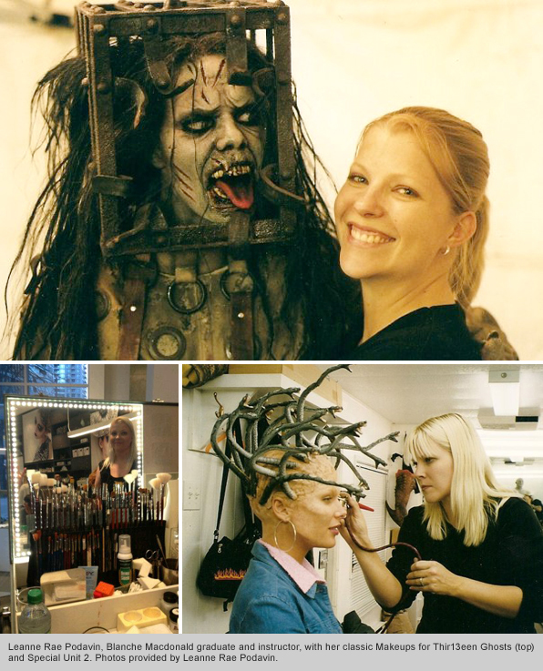 Top Makeup School Graduate and Instructor Leanne Rae Podavin
