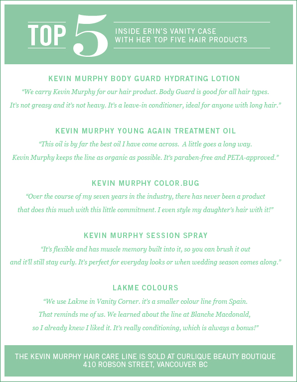 Erin's Top 5 Products, Kevin Murphy