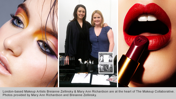 Top Makeup School Graduates Breianne Zellinsky and Mary Ann Richardson