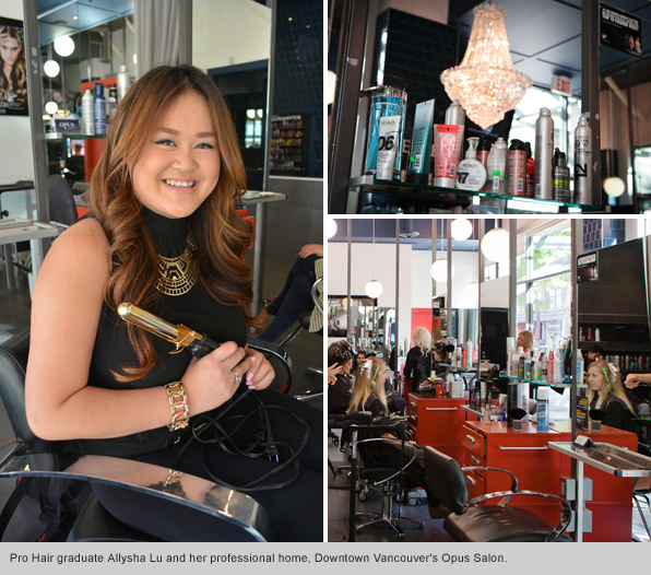 Top Hair School Graduate Allysha Lu