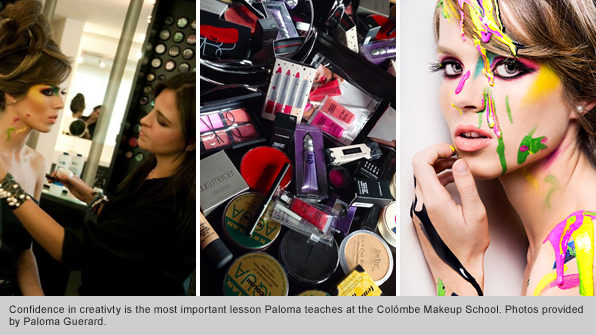 Top Makeup School Graduate Paloma Guerard