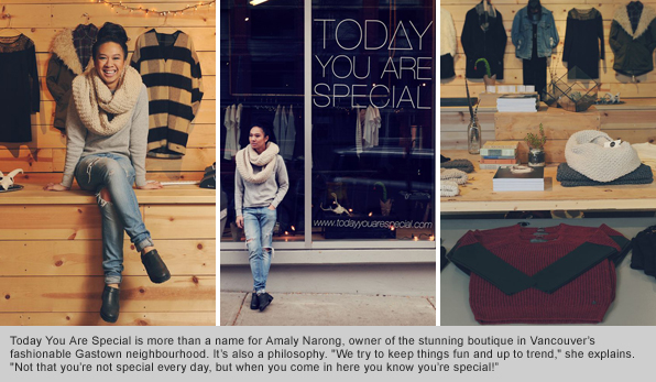 Fashion program graduate Amaly Narong, Owner of Today You Are Special