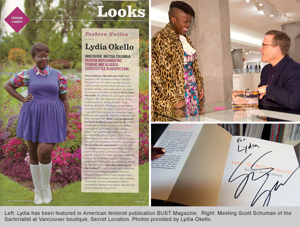 Top Fashion Merchandising Graduate Lydia Okello