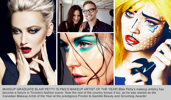 BMC Makeup Artistry Graduate Blair Petty, P&G's Makeup Artist of the Year 2013