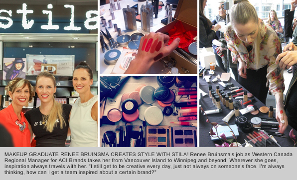 Top Makeup School Graduate Renee Bruinsma