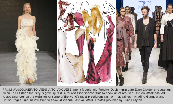 Top Fashion Design Graduate Evan Clayton