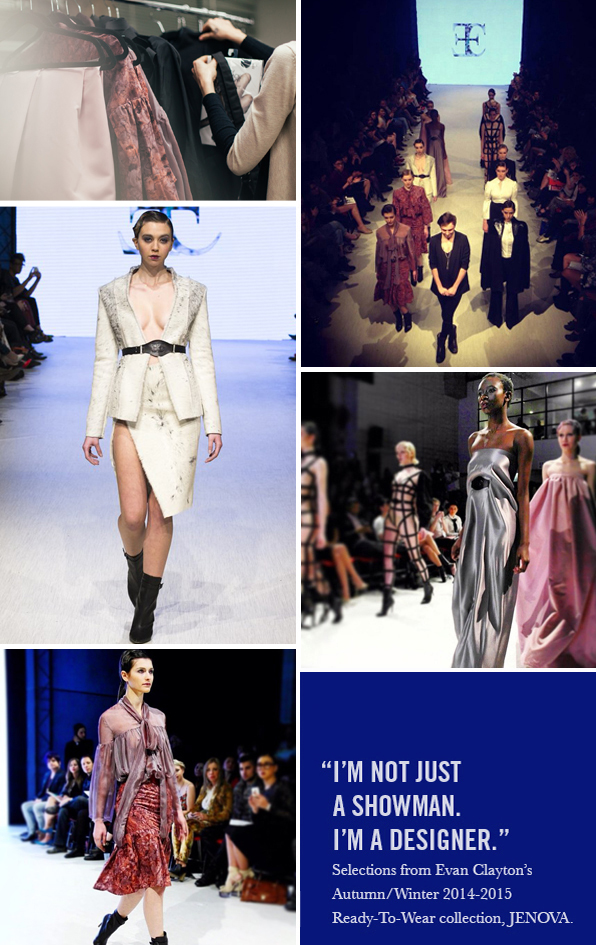 Top Fashion Design School Graduate Evan Clayton