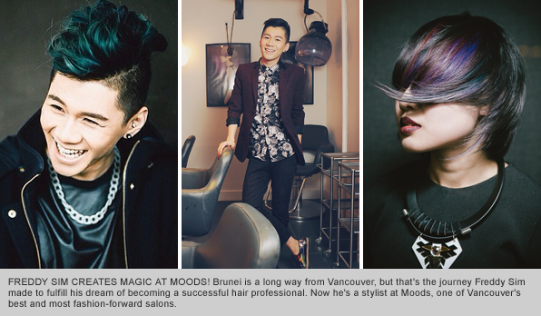 Top Hair School Graduate Freddy Sim