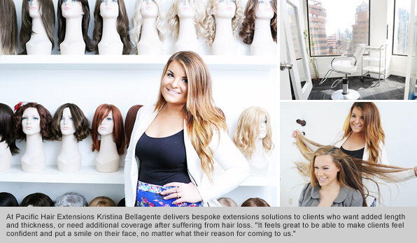 Top Hair School Graduate Kristina Bellagente