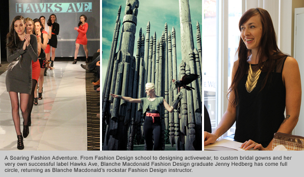 Top Fashion Design School Graduate-turned-instructor Jenny Hedberg
