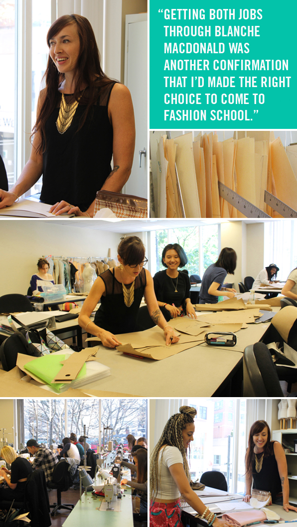 Top Fashion School Graduate turned Instructor Jenny Hedberg