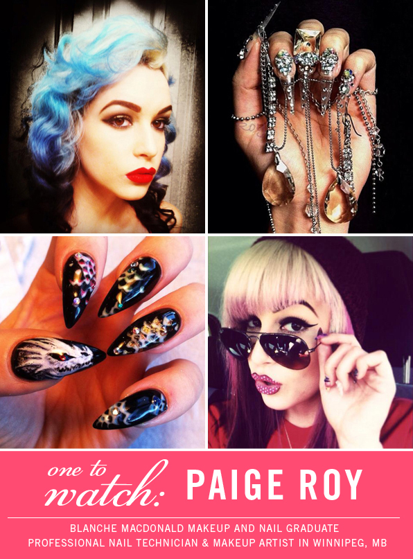 Top Nail and Makeup School Graduate Paige Roy